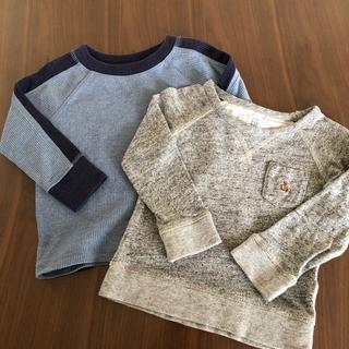 babyGAP - baby GAP 長袖Tシャツ 2枚セット