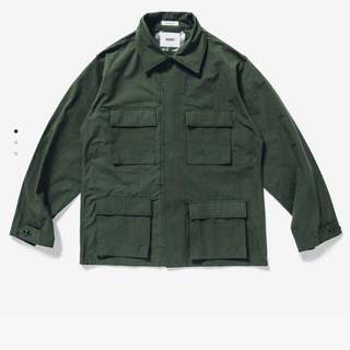 W)taps - wtaps  wmill ls 01 shirt nyco ripstop M