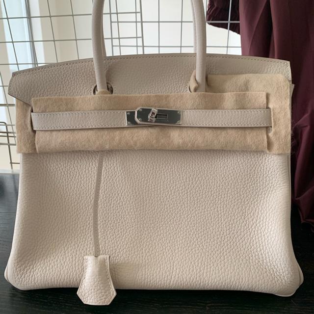 Hermes(エルメス)のエルメスバーキン30 クレ 未使用 レディースのバッグ(ハンドバッグ)の商品写真