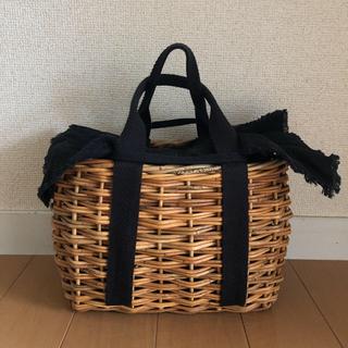 IENA - お洒落✳︎FleaStoreVegetal バスケットトート かごバッグ