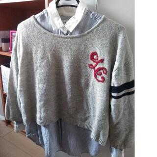 LEPSIM - LEPSIM ニットとシャツセット