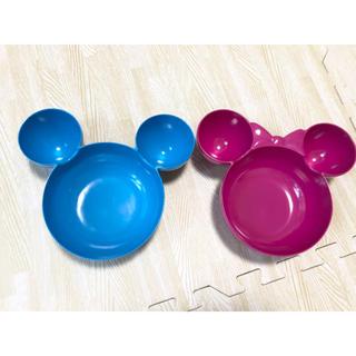 Disney - ディズニー ペア プレート皿 未使用品