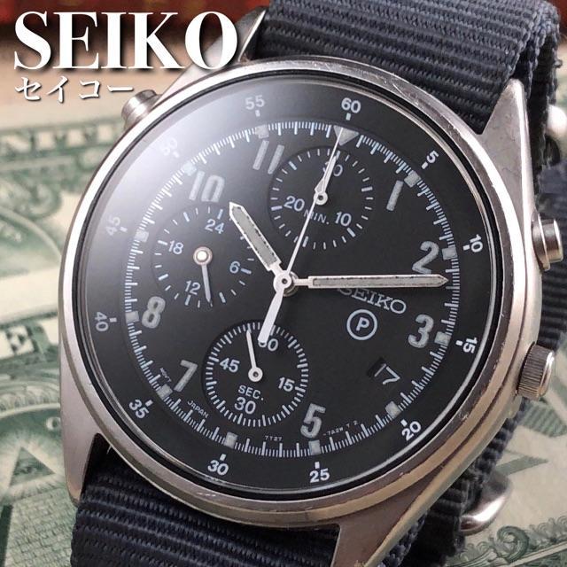 ★激希少!!★セイコー/英国空軍/7T27/7A20/アンティーク腕時計の通販