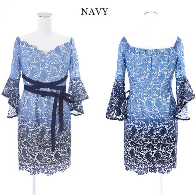 JEWELS(ジュエルズ)のJEWELS ドレス キャバドレス ブルー レース レディースのフォーマル/ドレス(ミニドレス)の商品写真