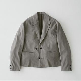 SUNSEA - Short Length Jacket(Check) ryo takashima