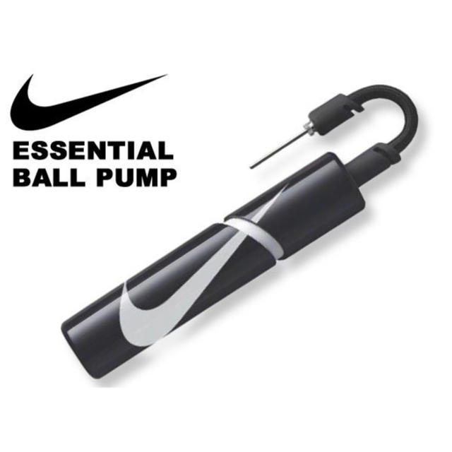 NIKE(ナイキ)の空気入れ ナイキ NIKE エッセンシャル ボールポンプ ハンドポンプ スポーツ/アウトドアのサッカー/フットサル(ボール)の商品写真