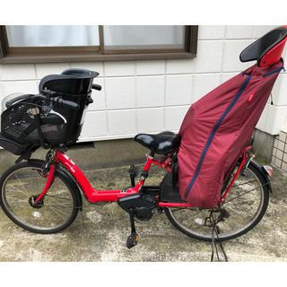 ヤマハ(ヤマハ)の電動自転車 子供乗せ 3人乗り ヤマハ PAS Kiss 26型(自転車)