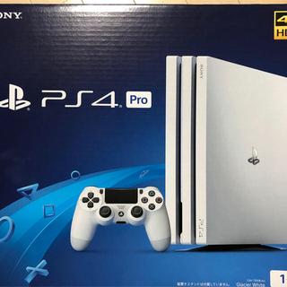 PlayStation4 - PS4  PRO グレイシャーホワイト 1T 新品未使用