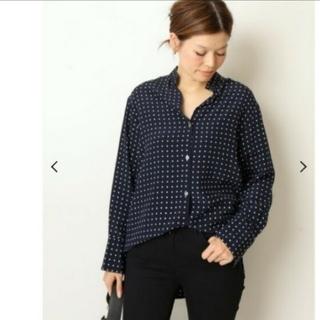 DEUXIEME CLASSE - ドゥーズィエムクラス BINDA ドットプリントシャツ