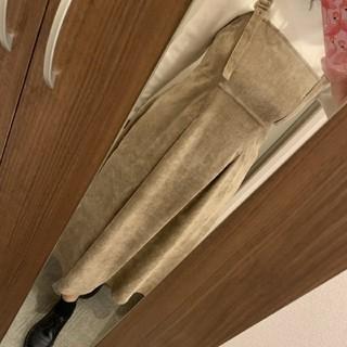 w closet - 後ろシャーリングタックワンピース