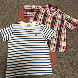 DOUBLE.B - ダブルB ミキハウス Tシャツ 2枚セット