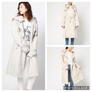 TATRAS - ♡美品♡ タトラス TATRAS ベルト付 トレンチ  コート ブラック