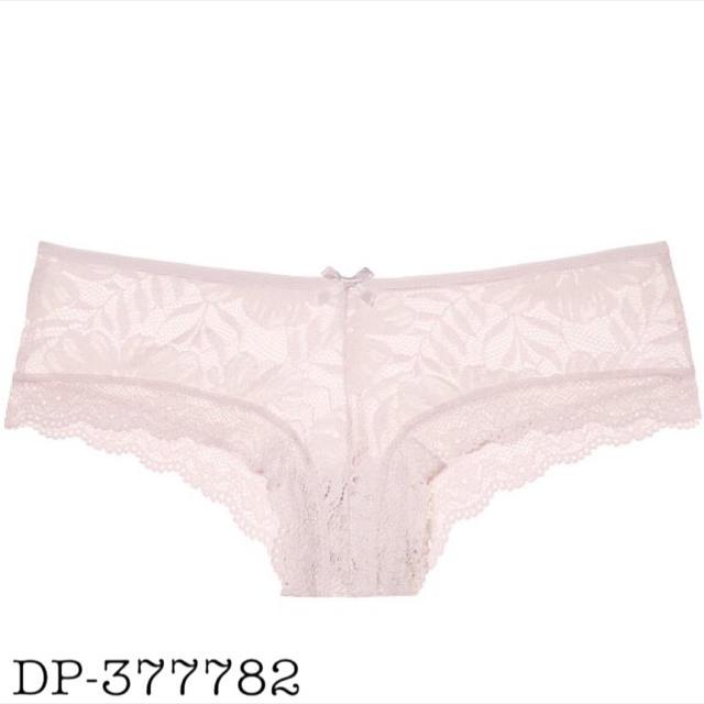 Victoria's Secret(ヴィクトリアズシークレット)のパームレースチーキー♡シアーピンク レディースの下着/アンダーウェア(ショーツ)の商品写真