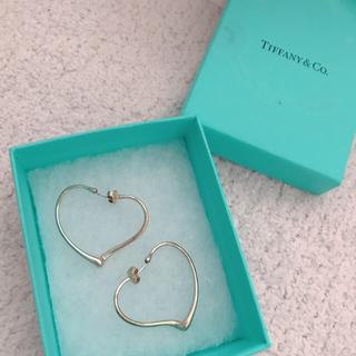 Tiffany & Co. - ティファニー ハートピアス