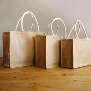 ムジルシリョウヒン(MUJI (無印良品))の無印良品 ジュートマイバッグ A4 & B5 サイズ(エコバッグ)
