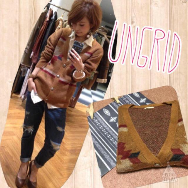 Ungrid(アングリッド)の希望金額OK☆フード付きデニムシャツ レディースのトップス(シャツ/ブラウス(長袖/七分))の商品写真