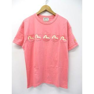 エビス(EVISU)のエヴィス EVISU カモメプリント メニーポケット 5ポケット 半袖 Tシャツ(Tシャツ/カットソー(半袖/袖なし))