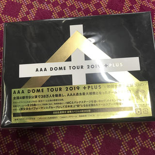 AAA - AAA DOME TOUR 2019 +PLUS(初回生産限定DVD