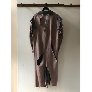 JOHN LAWRENCE SULLIVAN - 定価¥90,000円‼️【Sulvam】19ss オーバー切りっぱなしコート