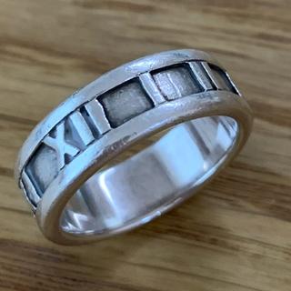 Tiffany & Co. - ティファニー リング 指輪 アトラスリング 12号 #12 SV925