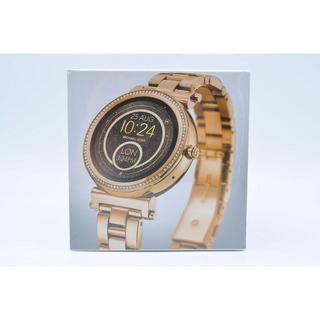 マイケルコース(Michael Kors)の☆マイケルコース MKT5021☆イエローゴールド☆新品☆スマートウォッチ☆(腕時計)