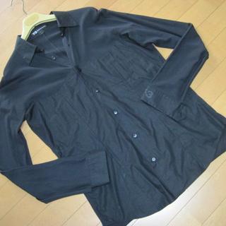 ワイスリー(Y-3)のyohji yamamoto adidas Y-3 デザインニットシャツ 黒 S(シャツ)