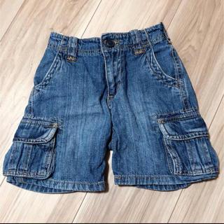 オシュコシュ(OshKosh)の80-90センチ♪オシュコシュ デニム 半ズボン ハーパン ゴム ブルー(パンツ)