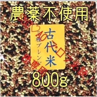 SHO♡AO プロフ必読!様専用 古代米3種ブレンド 愛媛県産 800g(米/穀物)