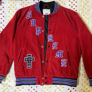 Supreme - Supreme Old English Varsity Jacket 18SS
