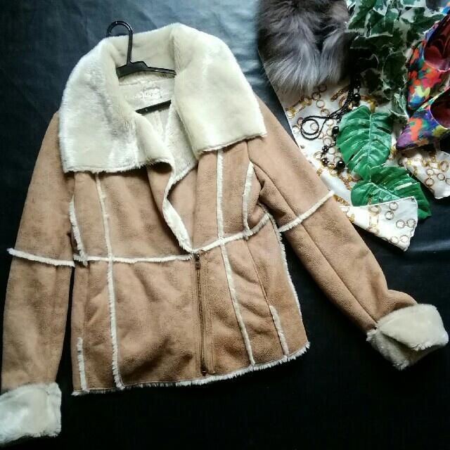 Ungrid(アングリッド)の♪アングリッド♪ムートン♪インナーボアつきジャケット♪ZARA♡バナナ レディースのジャケット/アウター(ムートンコート)の商品写真