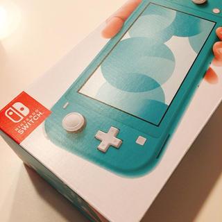 ニンテンドースイッチ(Nintendo Switch)のNintendo Switch Lite (ターコイズブルー)/本体(家庭用ゲーム機本体)