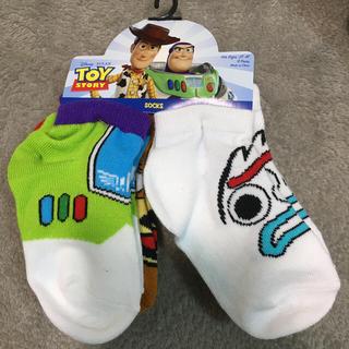 Disney - 【新品未使用】タグ付! トイストーリー 靴下 キッズ 6足セット