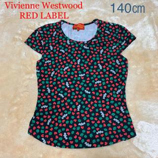 ヴィヴィアンウエストウッド(Vivienne Westwood)のヴィヴィアンウエストウッド 子供服 140㎝ 綿100%  プリント Tシャツ (Tシャツ/カットソー)