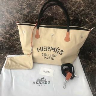 Hermes - エルメス ノベルティーバッグ ギャンバスバッグ