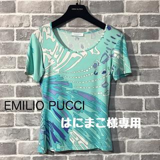 エミリオプッチ(EMILIO PUCCI)のEMILIO PUCCI カットソー(Tシャツ(半袖/袖なし))