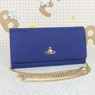 ヴィヴィアンウエストウッド(Vivienne Westwood)のヴィヴィアンウエストウッド 斜めがけ お財布ショルダー チェーン(財布)