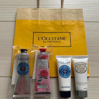 L'OCCITANE - 【ロクシタン♡ハンドクリーム♡ボディクリーム♡紙袋♡5点 まとめ売り】