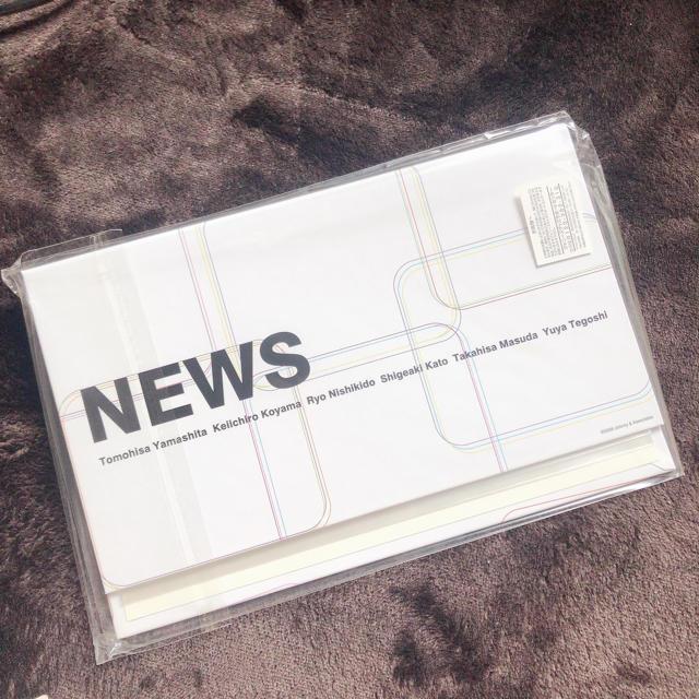 NEWS(ニュース)のNEWS 会報ファイル エンタメ/ホビーのタレントグッズ(アイドルグッズ)の商品写真