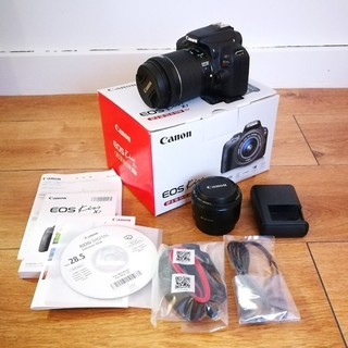 Canon - Canon EOS KISS X7 一眼レフカメラ 単焦点付き