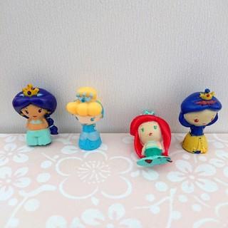 ディズニー(Disney)のバスボール プリンセス 入浴剤 フィギュア ディズニー 女の子 びっくりたまご(お風呂のおもちゃ)
