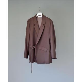 COMOLI - 【名作】ETHOSENS 19AW ストリングテーラードジャケット