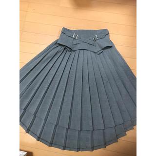 EATME - 新品 EATME 2WAYベルテッドプリーツスカート
