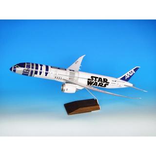 エーエヌエー(ゼンニッポンクウユ)(ANA(全日本空輸))の1/100特大模型!B787-9 ANA全日空 STARWARS「R2-D2」(模型/プラモデル)