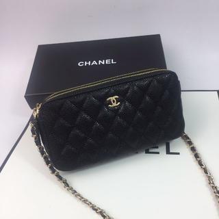 CHANEL - chanel チェーン ショルダーバッグ