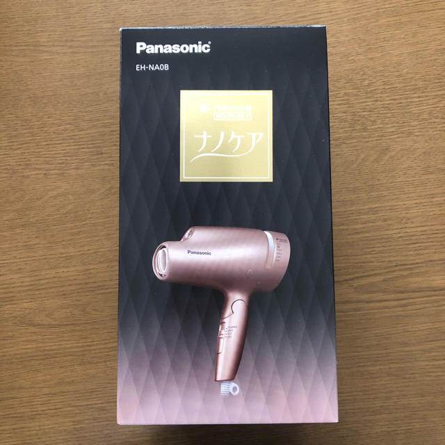 Panasonic(パナソニック)のPanasonic EH-NA0B-PN ナノケア ドライヤー eh-na0b スマホ/家電/カメラの美容/健康(ドライヤー)の商品写真