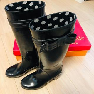 ケイトスペードニューヨーク(kate spade new york)のKate Spade ♠️ ケイトスペード レインブーツ(レインブーツ/長靴)