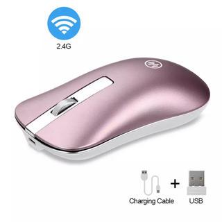 ワイヤレスマウス ピンク レーザー式 充電式
