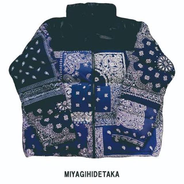 Supreme(シュプリーム)のMIYAGIHIDETAKA BANDANA DOWN JACKET メンズのジャケット/アウター(ダウンジャケット)の商品写真