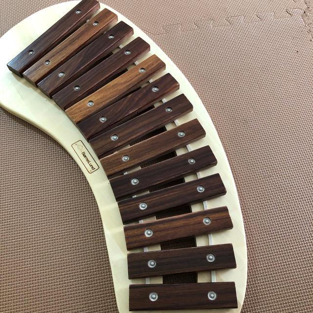BorneLund(ボーネルンド)のボーネルンド パレットシロフォン キッズ/ベビー/マタニティのおもちゃ(楽器のおもちゃ)の商品写真