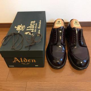 Alden - alden ブイチップ 54321 コードバン 6.5
